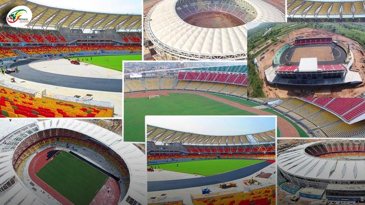 Découvrez les nouvelles images des stades qui vont accueillir la CAN 2022 au Cameroun