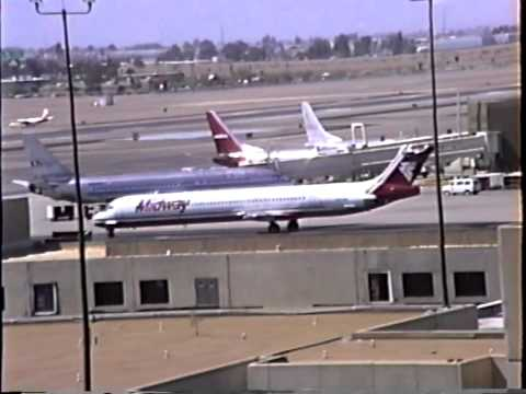 Phoenix Sky Harbor Plane Spotting (1990)