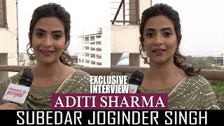 aditi sharma subedar joginder singh exclusive interview channel punjabi