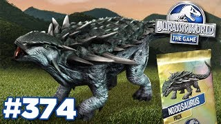 Nodosaurus Tournament!!! | Jurassic World - The Game - Ep374 HD