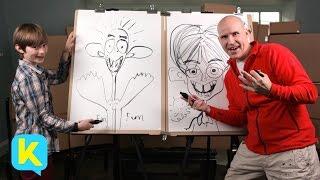 Draw Mad Cartoons with Øistein! | Kidspiration