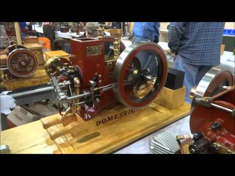 Cabin Fever Expo 2016 Model Engineering Show Sights & Sounds