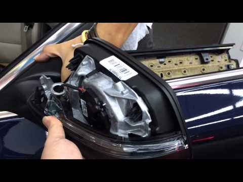 JS BMW 5 M5 6 7 F07 F10 F11 F06 F12 F13 F01 F02 F03 Mirror Indicator Left