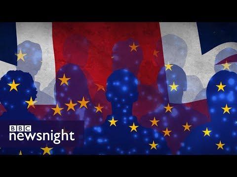Brexit: Leaked EU migration proposals explained - BBC Newsnight
