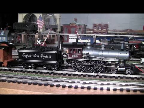 MTH Premier NYC American (4-4-0) O-Gauge Steam Locomotive #999 In True HD 1080p