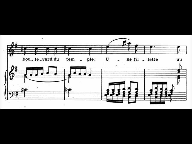 Claude Debussy - Pierrot for voice and piano (LATE APRIL FOOLS FINALE)