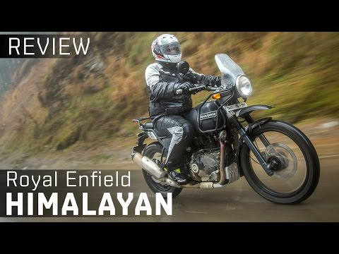 Royal Enfield Himalayan :: Video Review :: Zigwheels India