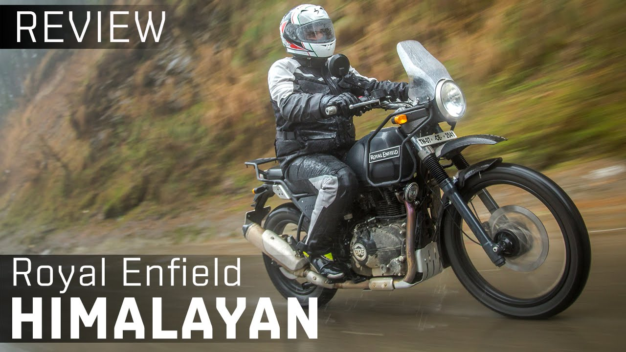 Royal Enfield Himalayan Video Review Zigwheels India