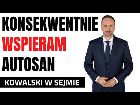 Janusz Kowalski wspiera w Sejmie Autosan