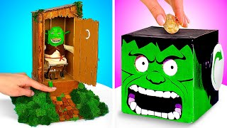 DIY Funny Coin Banks || How To Save Some Money!