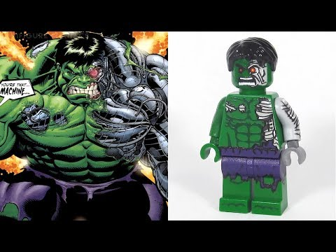LEGO MARVEL & DC - Minifigures VS Comics etc. PART 4