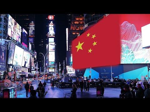 Chinese Propaganda in Times Square! | China Uncensored