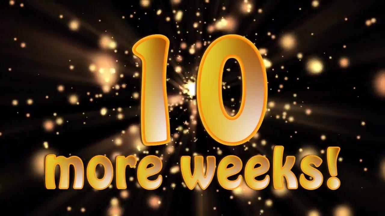 Until Christmas 10 Weeks Till Christmas.The Real Santa Claus 10 Weeks To Christmas Santa S Christmas Countdown