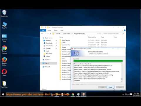 How to Uninstall qBittorrent 3.3.10 on Windows 10