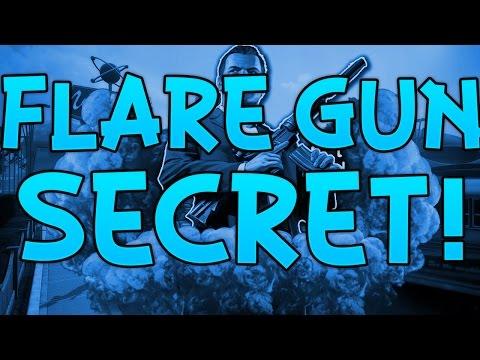 Grand Theft Auto V - Secret Flare Gun Easter Egg! (GTA V Gameplay)