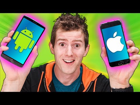 iPhone vs Android  The FIVE Year Test