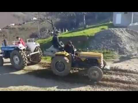 Leyland traktör vs Ford traktör  çekişmesi