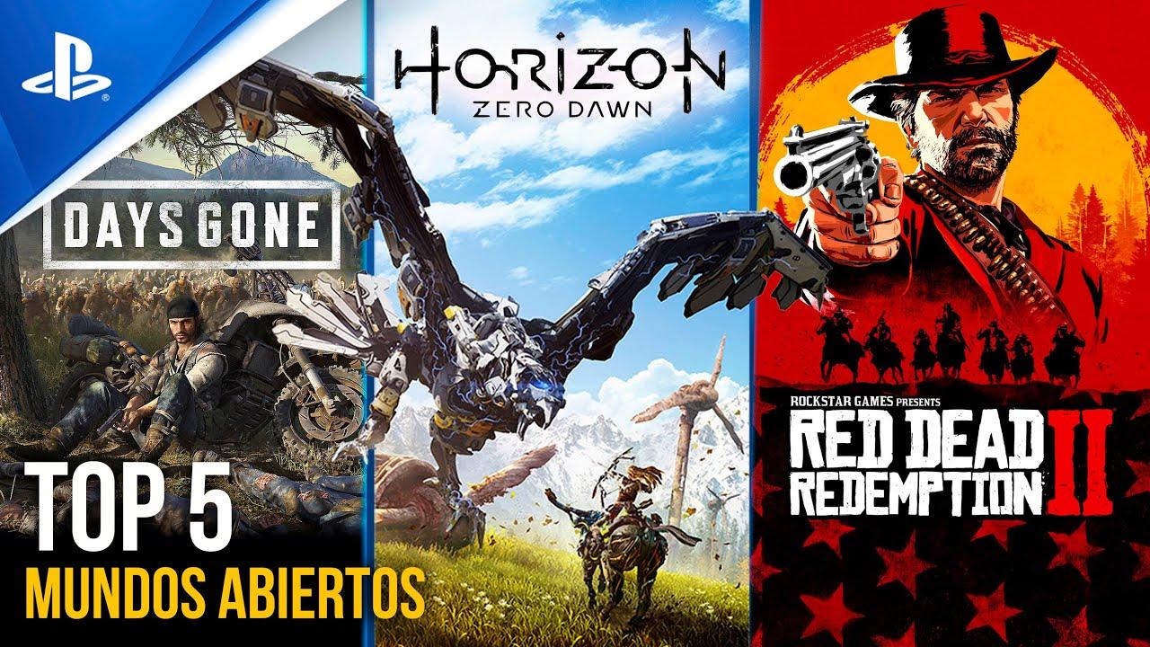 Top 5 MEJORES MUNDOS ABIERTOS de PS4 | Conexión PlayStation