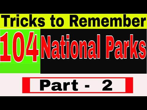 GK TRICKS | National parks | Lucent GK Tricks