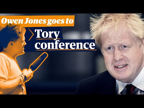 Owen Jones goes to Tory conference | 'A pact with the Brexit party, and you're all annihilated'