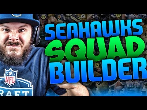 ALL-TIME SEATTLE SEAHAWKS SQUAD BUILDER & GAMEPLAY | MADDEN 16 ULTIMATE TEAM