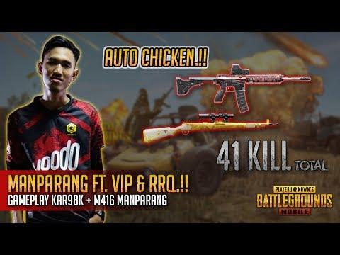 41 Kill.!! Manparang Memang Padu!! Gameplay Kar98K + M416!! PUBG Mobile Malaysia