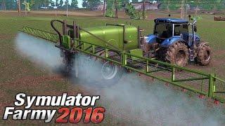 Symulator Farmy 2016 #7 - opryski przeciw chwastom | gameplay pl