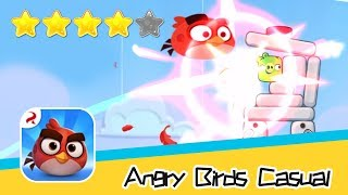 Angry Birds Casual Level 42-43 Walkthrough Sling birds to solve puzzles! Recommend index four stars