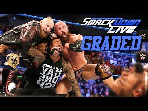 WWE Smackdown Live: GRADED (19 June) | SAnitY FINALLY Debut
