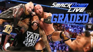 Video WWE Smackdown Live: GRADED (19 June) | SAnitY FINALLY Debut download MP3, 3GP, MP4, WEBM, AVI, FLV Juni 2018
