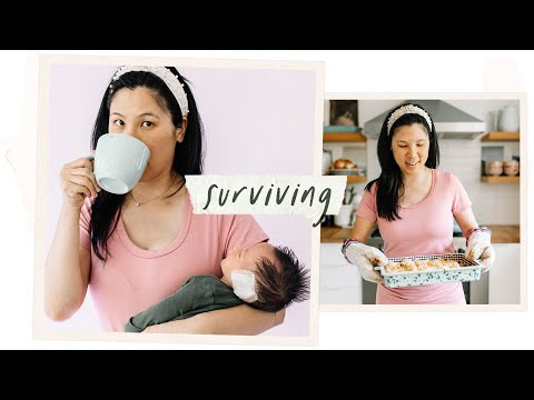 What I'm Cooking To SURVIVE With A Newborn