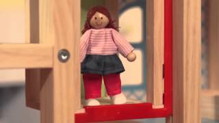 Melissa & Doug Hi-rise Doll House & Furniture Set