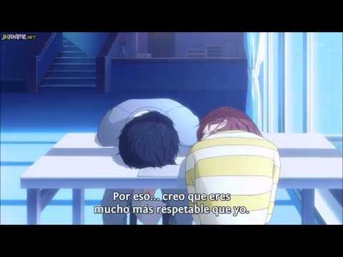 ao haru ride (blue spring ride) Kou le pregunta a Yoshioka si le ama - escena
