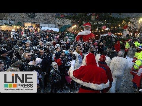 Le marché de noël d'une petite commune dynamique / Janvry (91) - France 03 décembre 2017