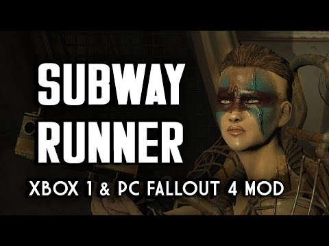 Subway Runner - Xbox 1 & PC Fallout 4 Underground Tunnel Adventure Mod