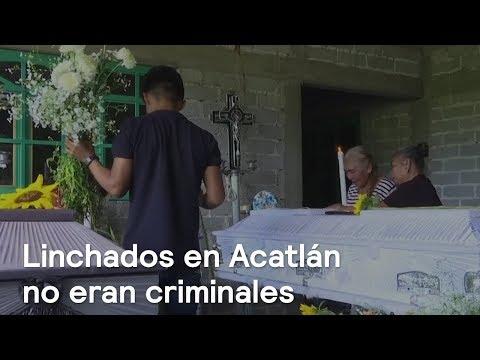 Linchados en Acatlán eran inocentes - En Punto con Denise Maerker