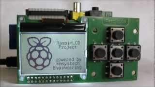 LCD Display for Raspberry Pi