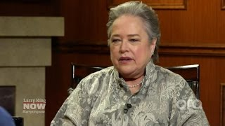 Kathy Bates Opens Up About Gender Inequality In Hollywood | Larry King Now | Ora.TV