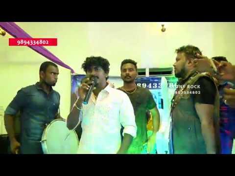 Chennai Gana Sudhakar DR.Ambedkar Song With Tony Rock Music Live
