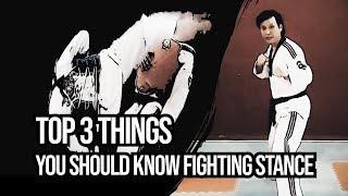 Top 3 Things You Should Know Taekwondo Fighting Stance Tutorial | TaekwonWoo