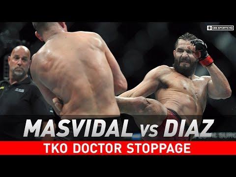 UFC 244: Stoppage spoils Jorge Masvidal's 'BMF' title win over Nate Diaz   CBS Sports HQ