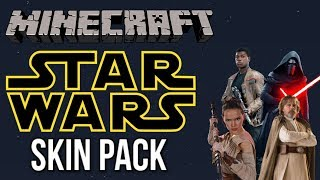 Minecraft Star Wars Sequel Skin Pack Review (Xbox/PS4/Switch/PE/Bedrock)