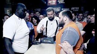 Slap contest Knockouts Compilation 2019 from Russia. 200 KG vs 180 KG Iron men slaps competition.