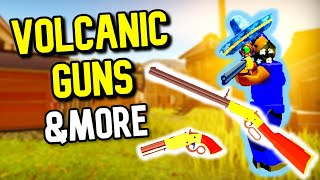 How to Get Volcanic Guns, Flare Gun, & More - The Wild West (Roblox)