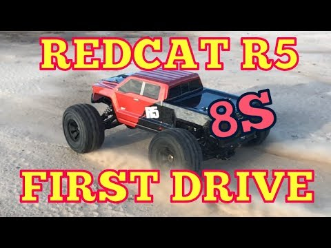 Redcat R5 First Drive