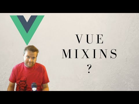 How To Use Vue Mixins For Beginners - YouTube