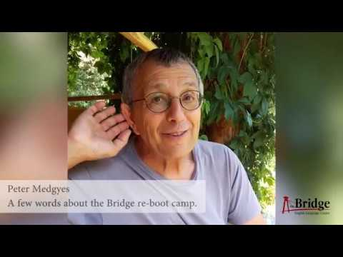 Peter Medgyes about the Bridge re-boot camp