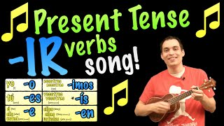 present tense ir verbs made easy with a song in spanish