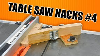 5 Quick Table Saw Tricks Part 4 / Woodworking Hacks