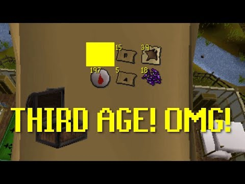 THIRD AGE LUCK! D: OSRS